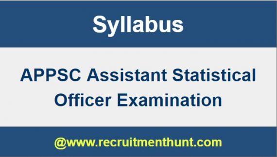 statistical officer job