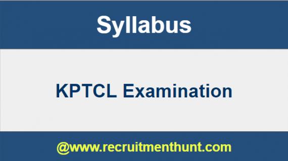 KPTCL Recruitment 2018 19