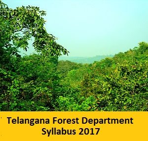 Telangana Forest Department Syllabus