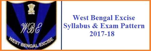 West Bengal Excise Department Syllabus