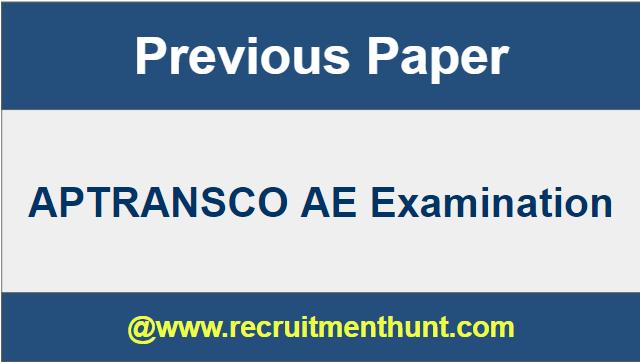 APTRANSCO Notification 2019