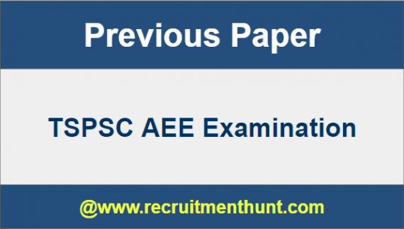 TSPSC AEE Previous Year Question Papers