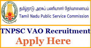 TNPSC VAO Recruitment