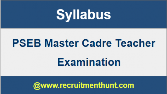 master cadre sample papers