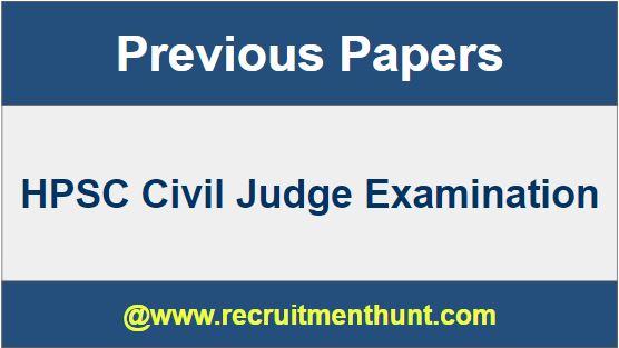 HPSC Civil Judge Exam