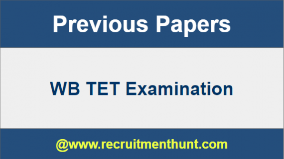 WB TET Previous Papers