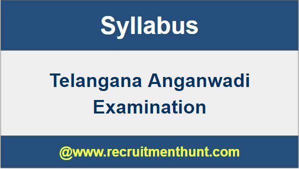 Telangana Anganwadi Exam