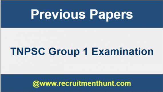 tnpsc group 1 mains question paper