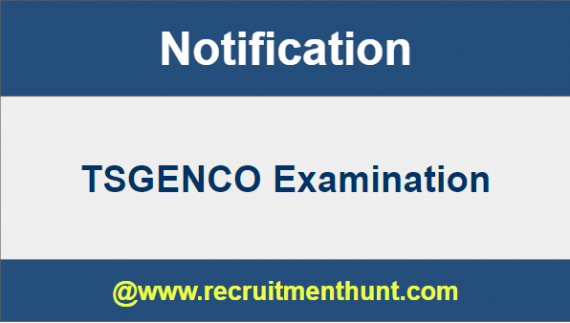 TSGENCO Notification