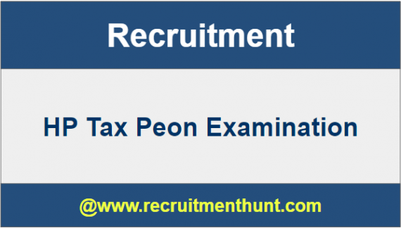 HP Tax Peon Recruitment
