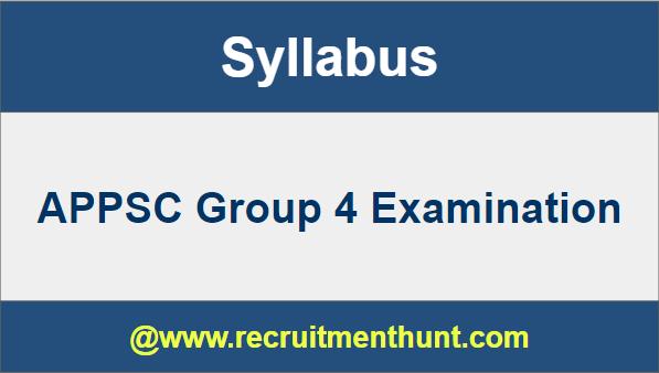 appsc group 4 application status