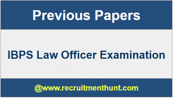 IBPS Law Officer Question Paper