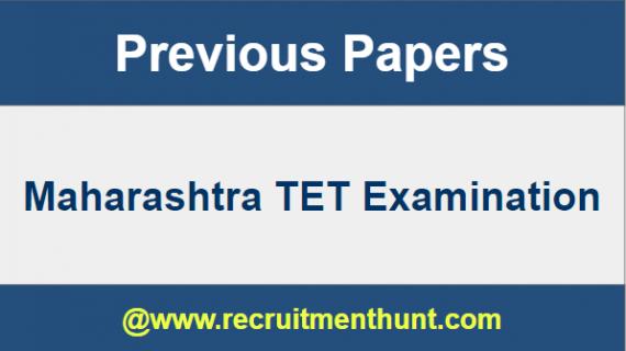 Maharashtra TET Previous Papers