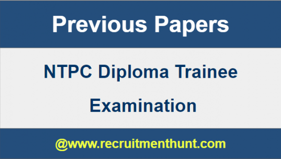 ntpc diploma mechanical question paper pdf