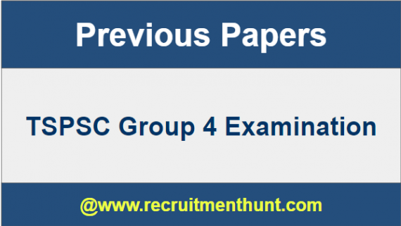 TSPSC Group 4 Previous Papers