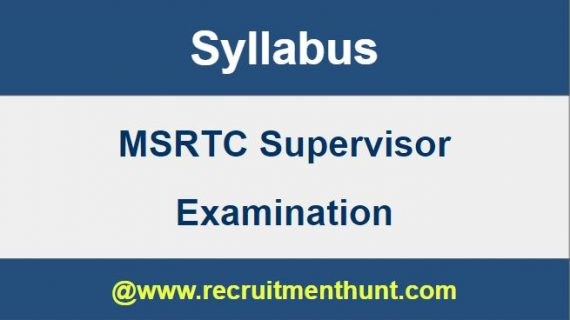 msrtc recruitment 2019 20