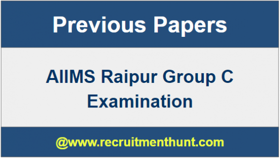 AIIMS Group C Exam Papers