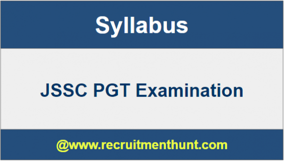 JSSC PGT Old Question Papers