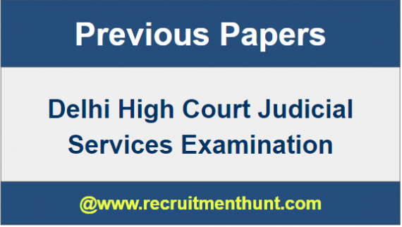 Delhi HC Judicial Services Question Paper