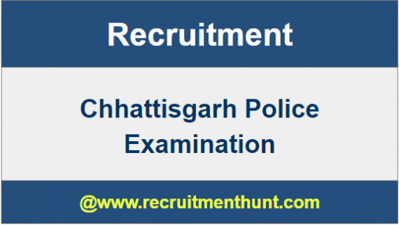 CG Police Recruitment 2019
