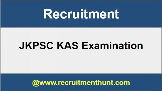 JKPSC KAS Recruitment