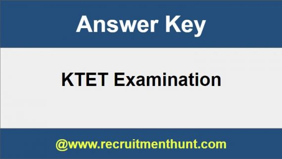 KTET Answer Key