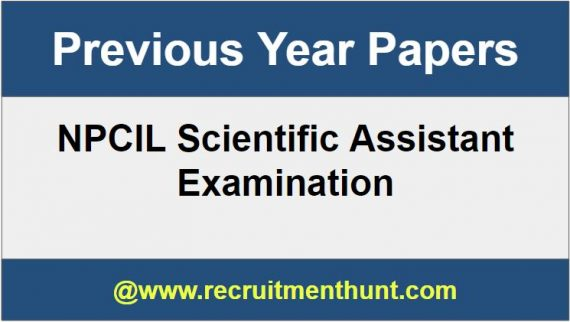 npcil scientific assistant syllabus