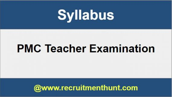 PMC Teacher Syllabus