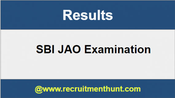SBI JAO Results