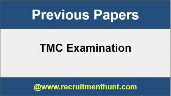 TMC Previous Papers
