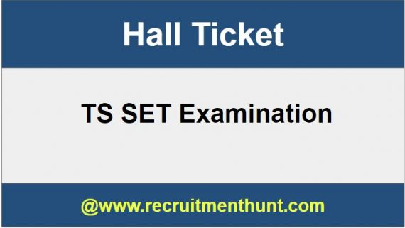 TS SET Hall Ticket