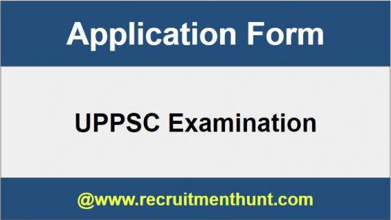 UPPSC Application Form