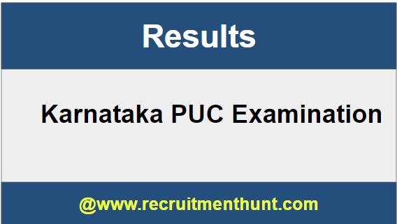 Karnataka PUC Results