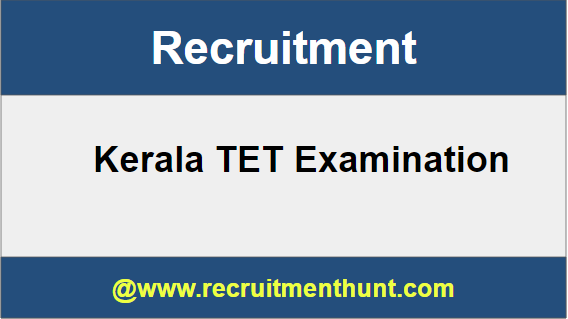 Kerala TET Recruitment
