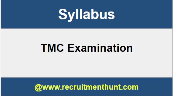 TMC Syllabus
