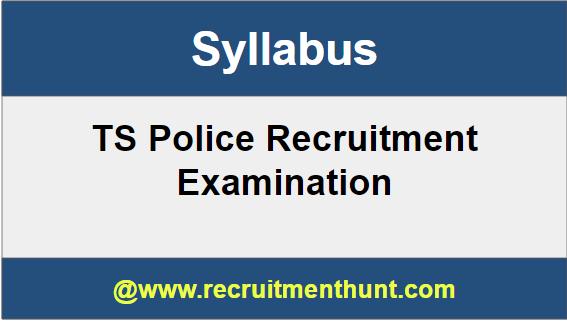 TS Police Syllabus