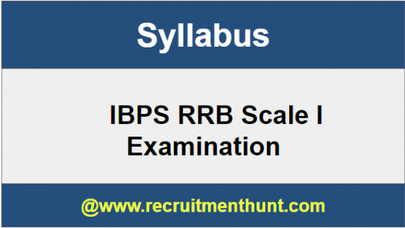 IBPS RRB Scale I Syllabus