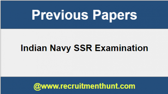 SOLVED] Download Indian Navy SSR Previous Question Year Papers PDF [KEY]