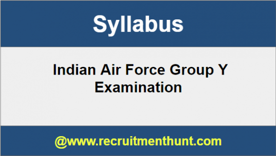 Air Force Y Group Syllabus