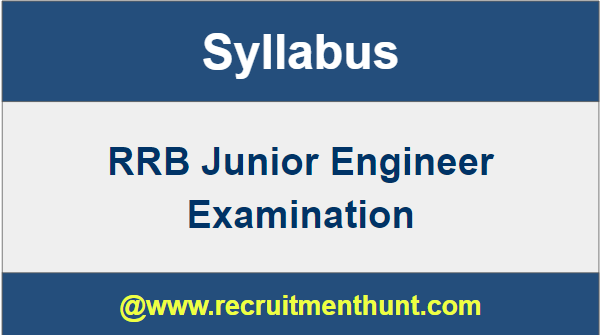 RBI Junior Engineer Syllabus