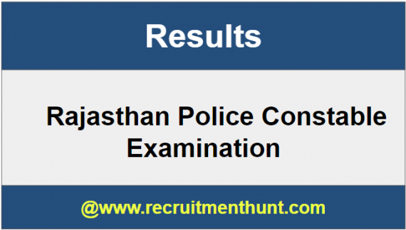 Rajasthan Police Constable Results
