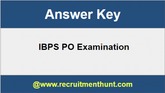 IBPS PO Answer Key