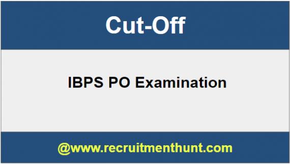 IBPS PO Cut Off