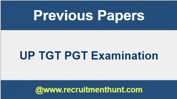 TGT PGT Exam Question Papers