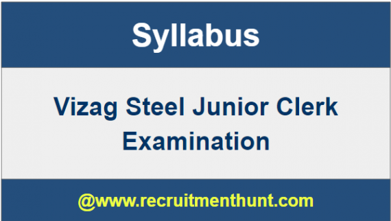 Vizag Steel Syllabus