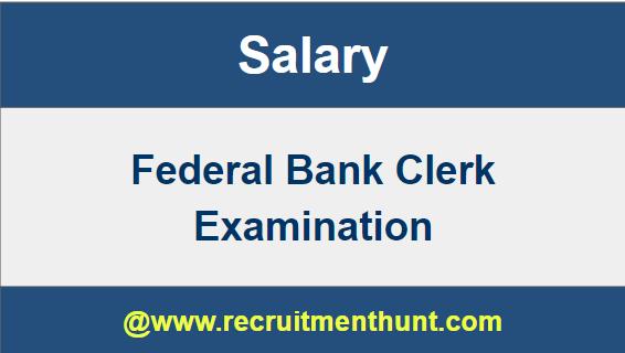 private bank clerk salary