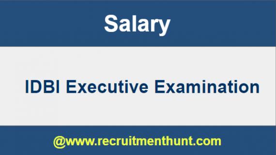 idbi executive recruitment