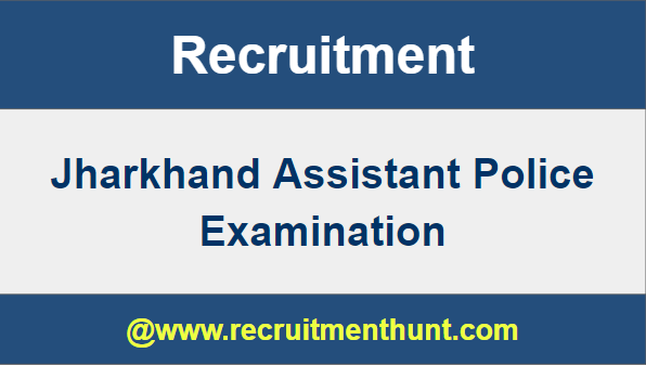 Jharkhand Police Vacancy 2019