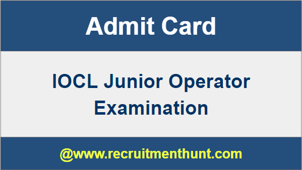 IOCL Exam Date