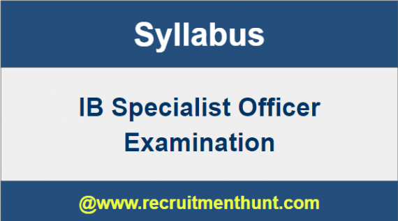 IB Specialist Officer Admit Card
